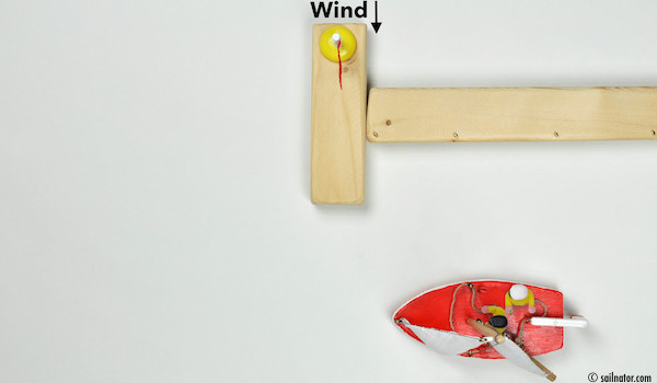"Figure 107: Command: ""Trim sails on beam reach!"""